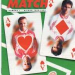 Avant Match n°01 saison 99/00