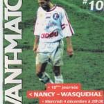 Avant Match n°10 saison 02/03