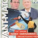 Avant Match n°12 saison 02/03