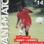 Avant Match n°14 saison 02/03