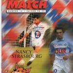 Avant Match n°14 saison 98/99