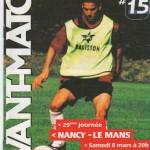 Avant Match n°15 saison 02/03