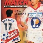 Avant Match n°16 saison 98/99