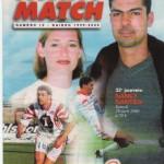 Avant Match n°16 saison 99/00