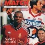 Avant Match n°17 saison 98/99
