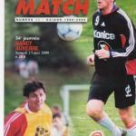 Avant Match n°17 saison 99/00