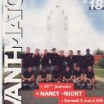 Avant Match n°18 saison 02/03