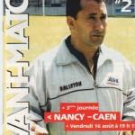 Avant Match n°02 saison 02/03