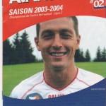 Avant Match n°02 saison 03/04