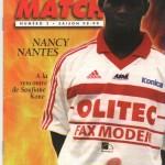 Avant Match n°02 saison 98/99
