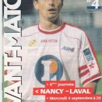 Avant Match n°04 saison 02/03
