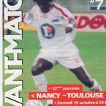 Avant Match n°07 saison 02/03