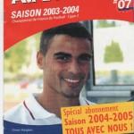 Avant Match n°07 saison 03/04