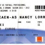 Billet Caen-Nancy - Saison 2011-2012 - L1 (18e j., 17/12/2011)