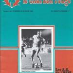Chardon Rouge n°159 saison 80/81