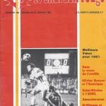 Chardon Rouge n°162 saison 80/81