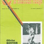 Chardon Rouge n°172 saison 81/82