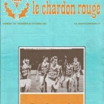 Chardon Rouge n°173 saison 81/82
