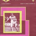 Chardon Rouge n°175 saison 81/82