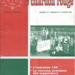Chardon Rouge n°177 saison 81/82