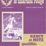 Chardon Rouge n°178 saison 81/82