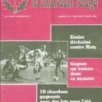 Chardon Rouge n°179 saison 81/82