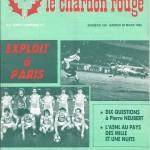 Chardon Rouge n°180 saison 81/82