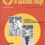 Chardon Rouge n°181 saison 81/82
