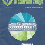 Chardon Rouge n°182 saison 81/82