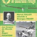 Chardon Rouge n°183 saison 81/82