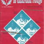 Chardon Rouge n°184 saison 82/83