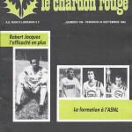 Chardon Rouge n°186 saison 82/83