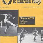 Chardon Rouge n°187 saison 82/83