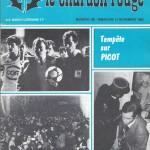 Chardon Rouge n°189 saison 82/83