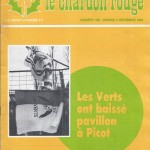 Chardon Rouge n°190 saison 82/83