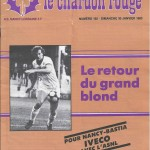 Chardon Rouge n°192 saison 82/83