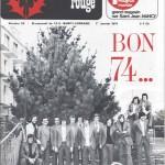 Chardon Rouge n°39 saison 73/74