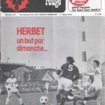 Chardon Rouge n°43 saison 73/74
