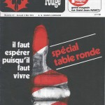 Chardon Rouge n°47 saison 73/74