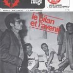 Chardon Rouge n°49 saison 73/74