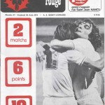 Chardon Rouge n°51 saison 74/75