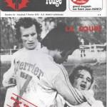 Chardon Rouge n°61 saison 74/75