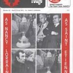 Chardon Rouge n°65 saison 74/75