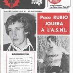 Chardon Rouge n°66 saison 74/75