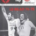 Chardon Rouge n°70 saison 74/75