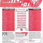 Programme Nancy-Rennes (Feuille de match #01) - Saison 2010-2011 - L1 (2e j., 14/08/2010)