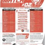 Feuille de Match n°02 saison 09/10