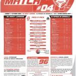 Feuille de Match n°04 saison 09/10