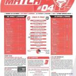 Programme Nancy-Lyon (Feuille de match #04) - Saison 2010-2011 - L1 (8e j., 02/10/2010)
