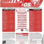 Feuille de Match n°05 saison 09/10